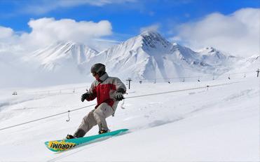 تور اسکی گرجستان از تهران