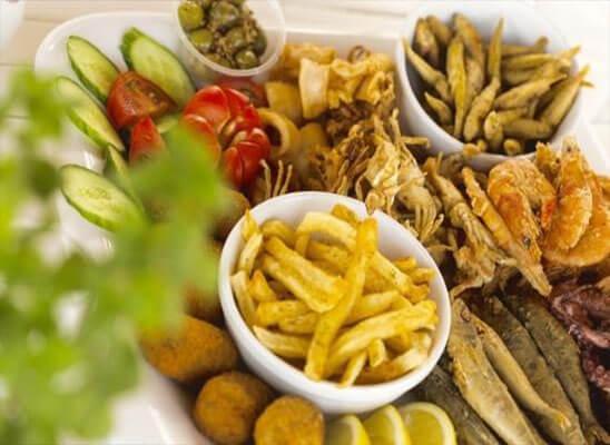 غذا قبرس اروپایی