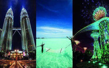 تور بالی+مالزی+سنگاپور از تهران