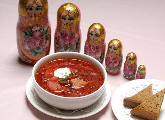 غذا مسکو