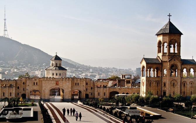 تور گرجستان از شیراز