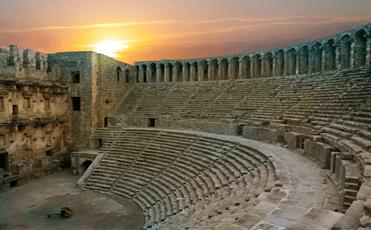 شهر باستانی آسپندوس آنتالیا
