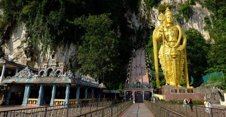 غار میمون ها مالزی