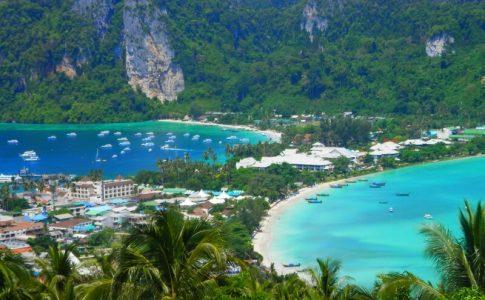 جزیره فی فی در تایلند