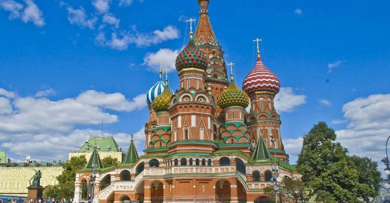 کلیسای سنت باسیل در روسیه