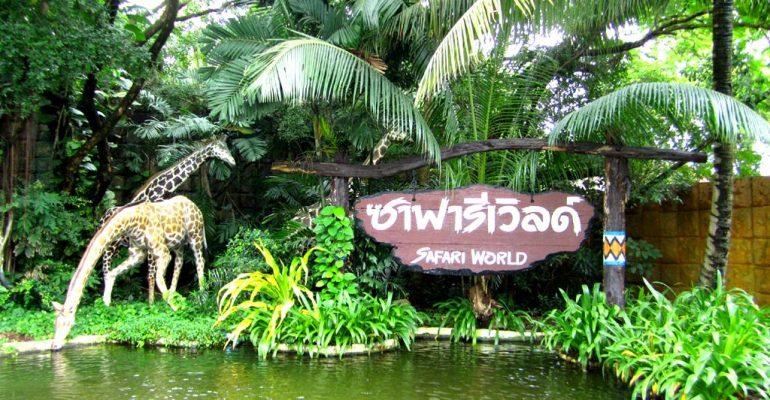 باغ وحش و پارک سافاری ورلد بانکوک