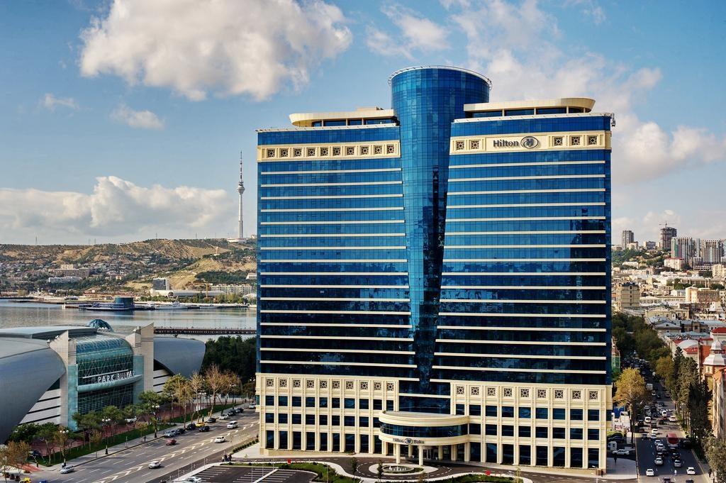 هتل hilton باکو
