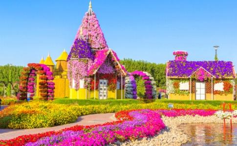 باغ گل های دبی